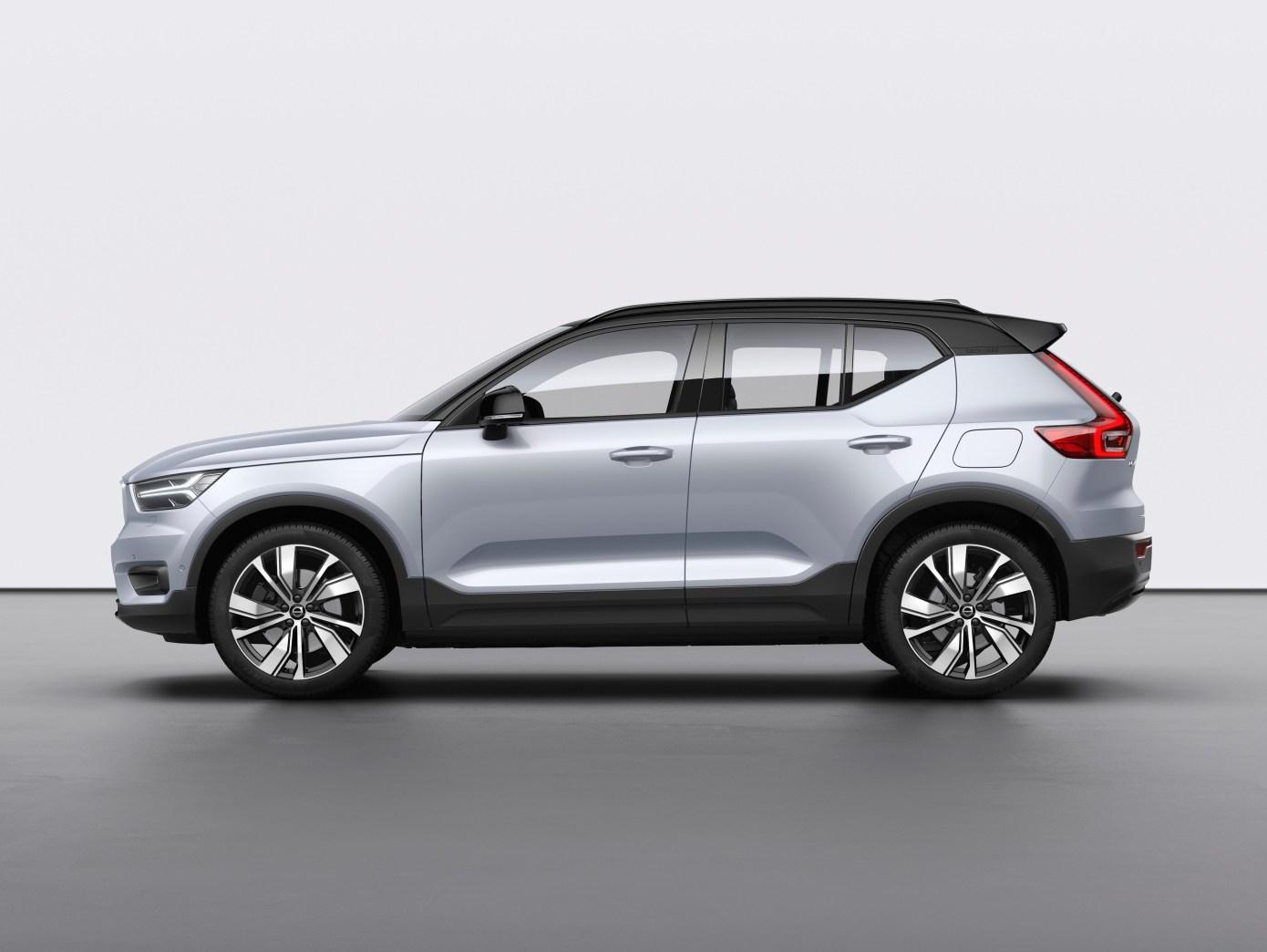 Volvo präsentiert sein erstes Elektroauto, den XC40 Recharge