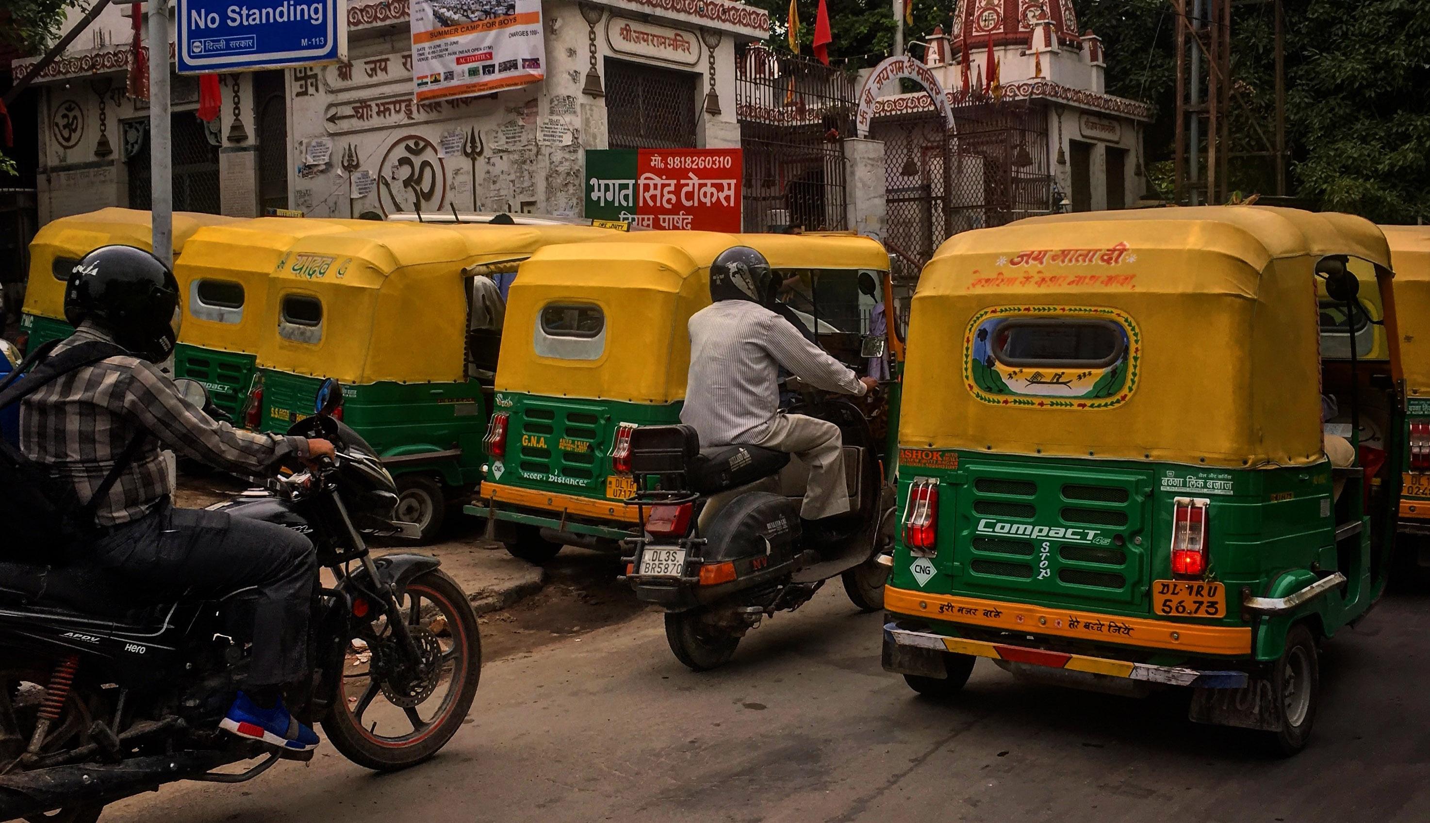 Indien setzt auf Wasserstoffkraftstoff in Delhi