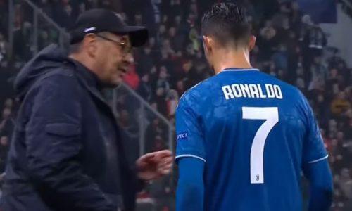 Cristiano Ronaldo: So soll er Coach Sarri beleidigt haben