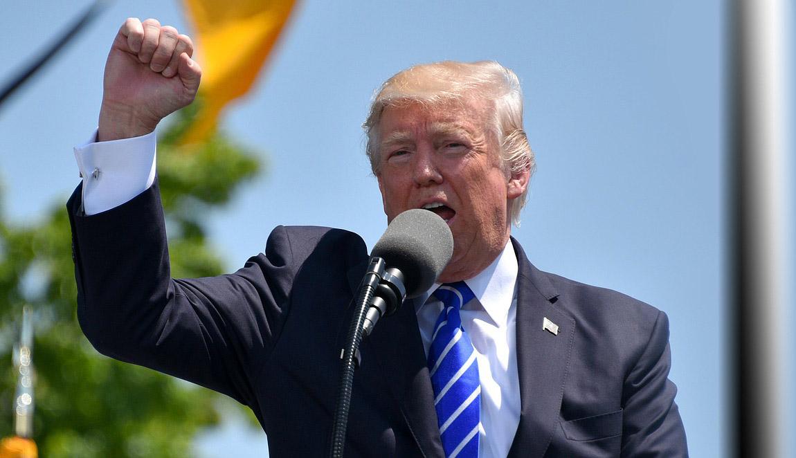 Donald Trump will den Erfinder des Rades schützen