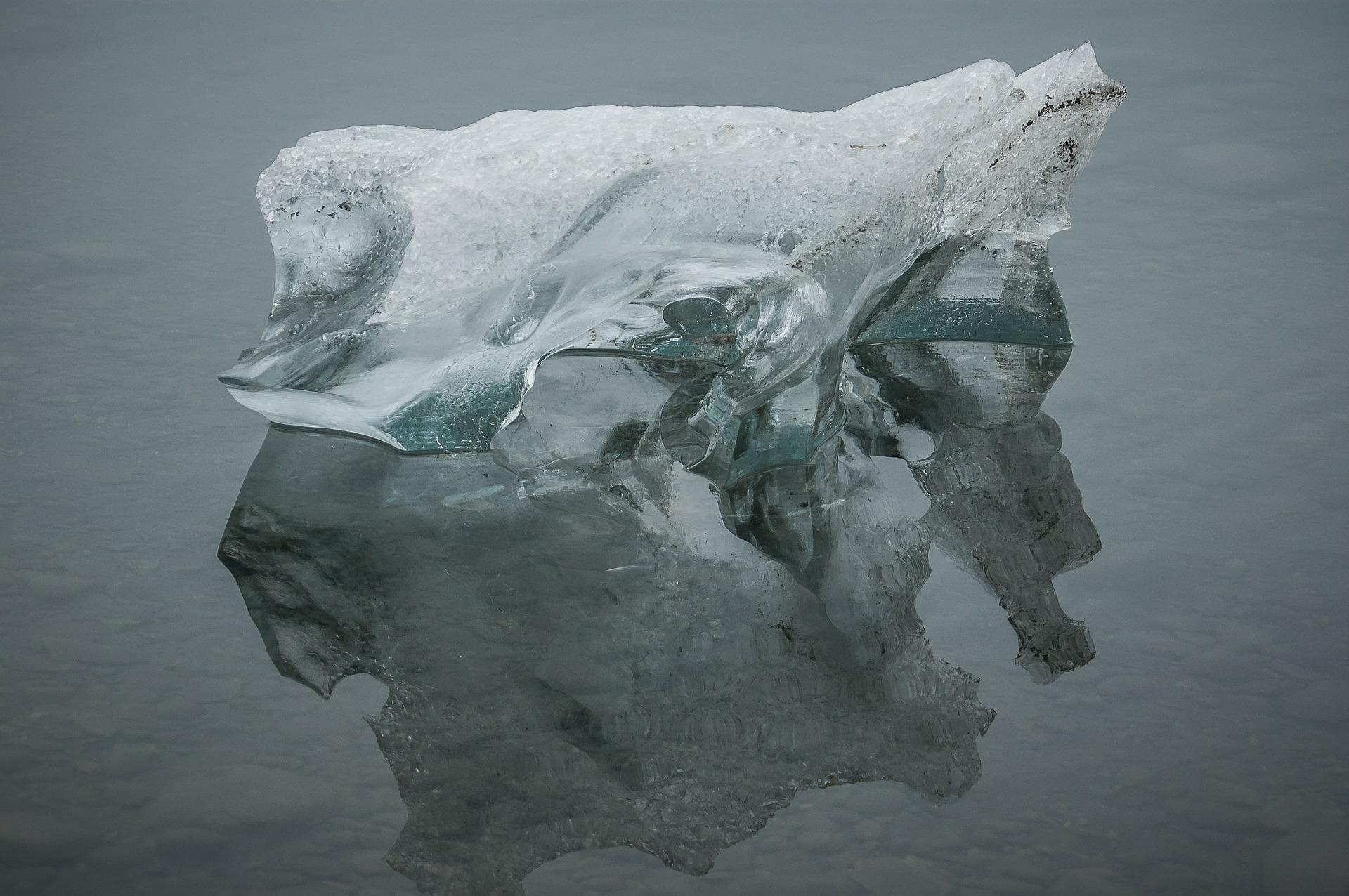 Bei Klima-Debatte: Boris Johnson durch Eisskulptur ersetzt