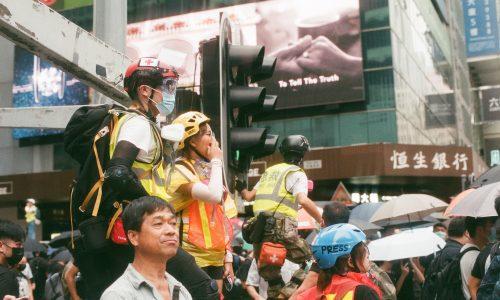 Hongkong bereitet sich auf neue Proteste während Neujahrsfeierlichkeiten vor