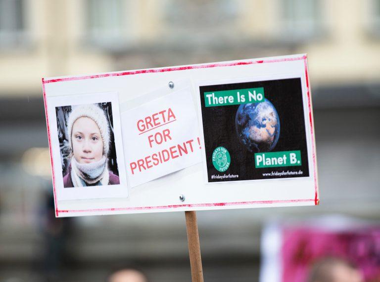 Klimaaktivistin Greta Thunberg ist Person des Jahres