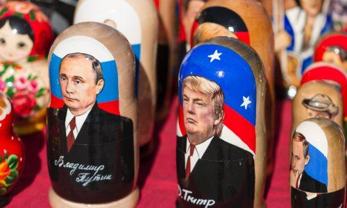 """Wladimir Putin: Trump wurde aus """"erfunden Gründen"""" angeklagt"""