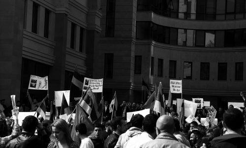 Griechische Inseln: Bewohner demonstrieren gegen Flüchtlingscamps
