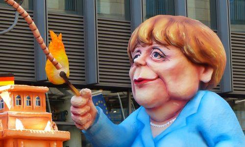 Deutschland: Landwirte protestieren gegen Angela Merkel