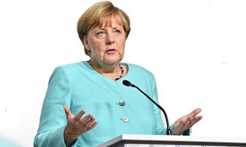 """Angela Merkel: """"Es ist ernst – wir setzen alles ein, was es braucht."""""""