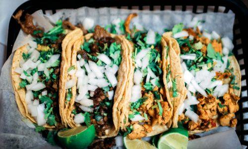 Dieser Taco Laden in LA verkauft Notfall Taco Menus