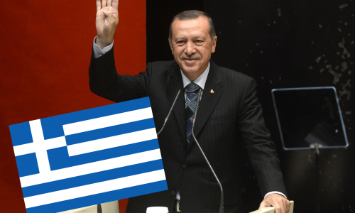 """Erdogan: """"Griechen und Nazis – da ist kein Unterschied!"""""""