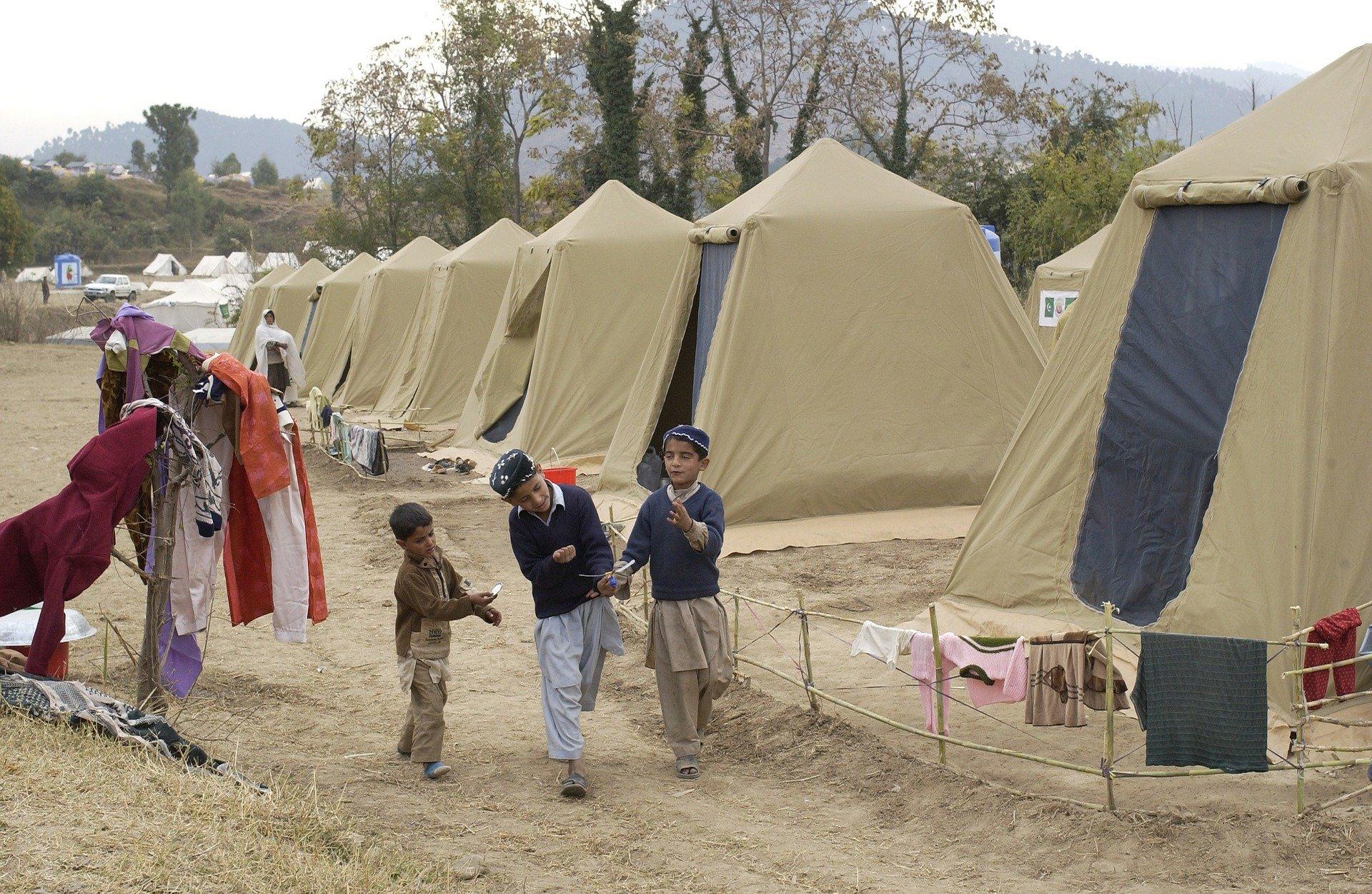 Flüchtlingslager Moria ist Coronavirus hilflos ausgeliefert