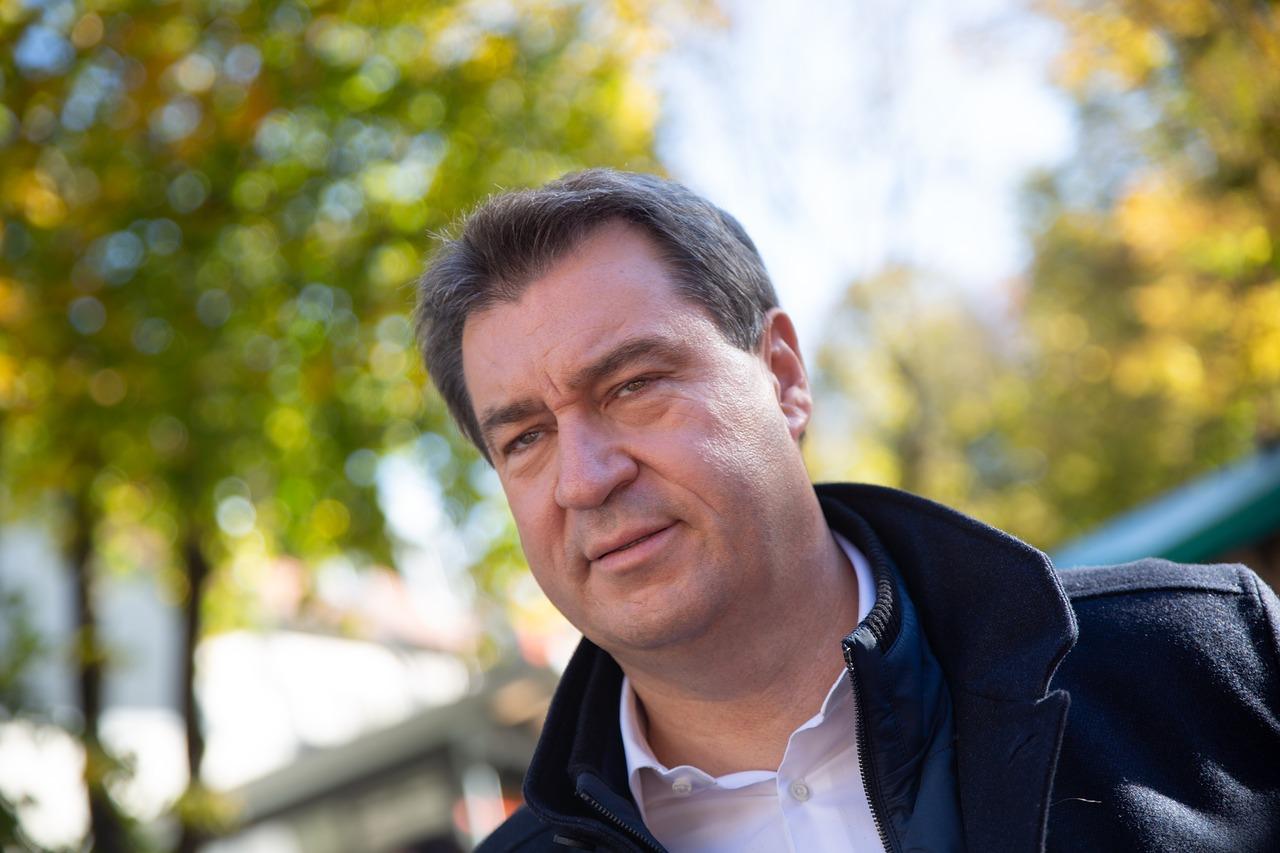 Sanktionen gegen China: Markus Söder zeigt sich skeptisch