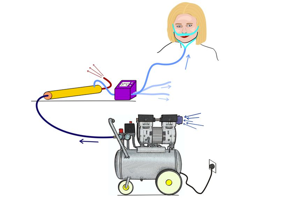 Covid-19: TU Wien entwickelt neues Sauerstoffgerät