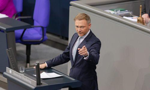 """FDP-Chef: """"Grenzen müssen schnell geöffnet werden."""""""