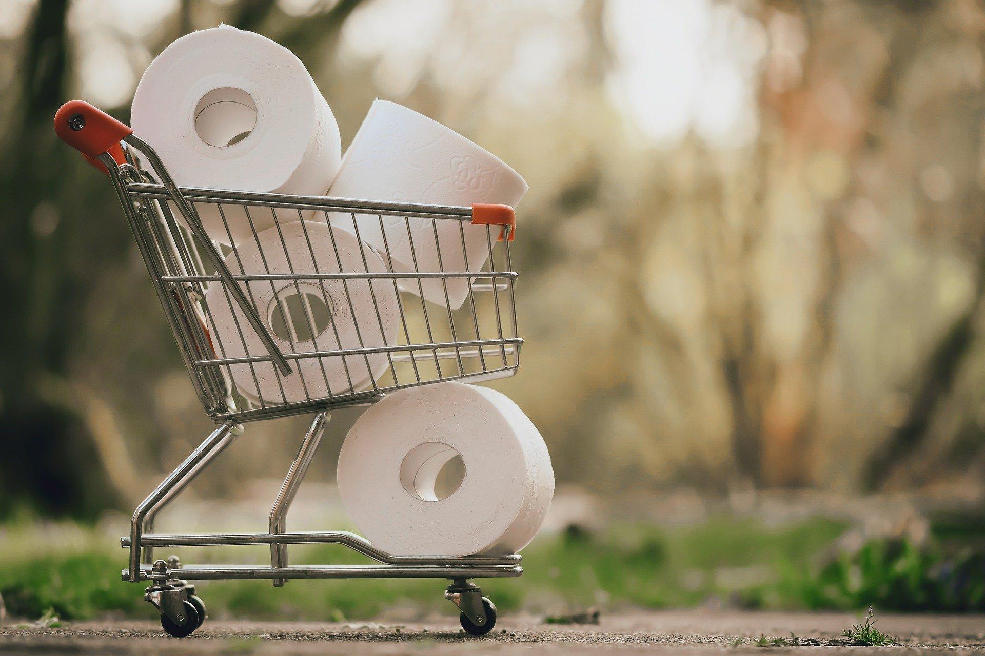 Hamsterkäufe sind vorbei: Klopapier als Indikator der Krise